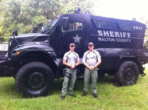 Small Town in Florida Obtains MRAP Armored Vehicle